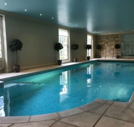 Pool build in Clopton