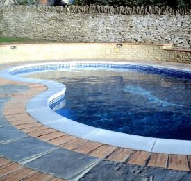 Curvy Shaped Pool