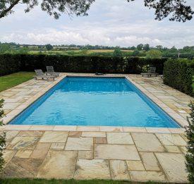 Outdoor pool builder Northampton